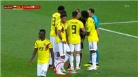 CẬN CẢNH: Colombia cố tình 'chơi xấu' để phá cú sút penalty của Harry Kane