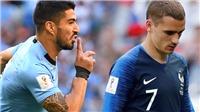 Suarez cảnh báo Griezmann: 'Đừng có tự cho mình là người Uruguay'