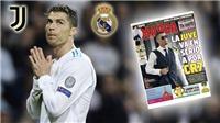 CẬP NHẬT sáng 5/7: Ronaldo hoàn tất kiểm tra y tế với Juve. Uruguay nhận tin dữ trước trận gặp Pháp