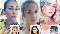 Cận cảnh sắc đẹp của dàn WAGs Thụy Điển khiến người Anh tự ti