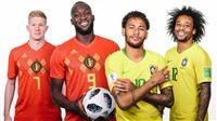 TIN HOT World Cup 6/7: Brazil lộ đội hình đấu Bỉ. Trọng tài... Argentina bắt trận Pháp vs Uruguay