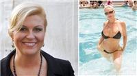 Cộng đồng mạng nhầm nữ Tổng thống Croatia với người mẫu bikini