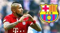 CẬP NHẬT sáng 3/8: Barca hoàn tất chiêu mộ Vidal. Yerry Mina đáp lời M.U. Willian bị giả chữ ký