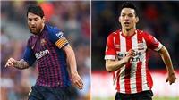 Fan Việt Nam được xem Barca, Inter đá giờ đẹp ở Champions League giữa tuần này