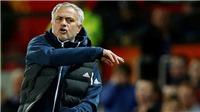 M.U bị loại bởi đội bóng của Lampard, Mourinho chỉ trích thái độ thi đấu của cầu thủ