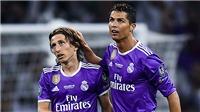 Ronaldo: 'Modric xứng đáng giành giải thưởng của UEFA'