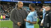 Guardiola phản ứng thế nào với pha trêu ngươi M.U của Sterling?