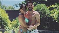 Vợ Messi diện bikini khoe dáng bên chồng sau 3 lần sinh nở