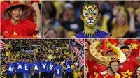 Mũ cối, sừng trâu Việt Nam lọt Top những màn hóa trang chất nhất AFF Cup 2018