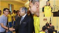 Thủ tướng Malaysia khích lệ đội nhà đấu Việt Nam, muốn toàn thắng 2 lượt trận