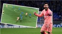 Phát sốt với đường chuyền vi diệu của Messi cho Suarez