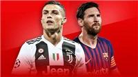 CẬP NHẬT tối 15/3: Kết quả bốc thăm tứ kết C1. Ronaldo vượt Messi. MU thiệt quân trước đại chiến