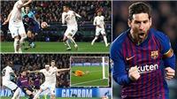 CẬP NHẬT sáng 17/4: Messi phá dớp Champions League. MU lập kỷ lục buồn. Scholes bị cáo buộc cá độ