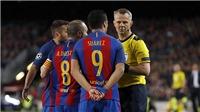 CẬP NHẬT sáng 30/4: Trọng tài giàu nhất thế giới bắt trận Barca- Liverpool. Pogba giận dữ phản pháo Roy Keane