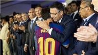 Barca tiết lộ kế hoạch gia hạn lần thứ 10 với Messi