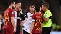 Ronaldo nhạo báng cầu thủ Roma là 'thằng lùn' rồi nhận trái đắng