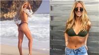 Nhan sắc chị sinh đôi nóng bỏng của hot girl quần vợt Eugenie Bouchard