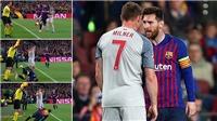 Fan Liverpool giận dữ vì cho rằng Messi 'ăn vạ như Neymar'