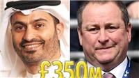 Tỷ phú mua Newcastle, anh cùng cha khác mẹ vớiông chủ Man City, giàu cỡ nào?
