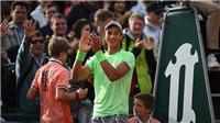 Tay vợt gốc Việt Antoine Hoang hạ người xếp trên gần 100 bậc, giành vé vào vòng 2 Roland Garros