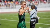 Choáng với cậu học sinh Mỹ chạy 100m suýt bằng kỷ lục thế giới của Usain Bolt