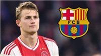 CHUYỂN NHƯỢNG Barca 11/6: Bất ngờ tăng giá mua De Ligt. Không phải PSG, Griezmann chọn Barca