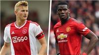 Chuyển nhượng MU: Vì Pogba, De Ligt hết cửa đến Old Trafford