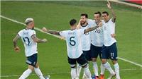 Bóng đá hôm nay 29/6: Argentina gặp Brazil ở bán kết Copa America. Milan dàn xếp để được.. cấm dự cúp châu Âu
