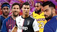 Giá trị mỗi bài đăng trên mạng xã hội của Ronaldo: Vượt Messi, Neymar, thua mỗi 2 sao nữ