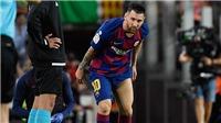 Vừa tái xuất đã chấn thương, Messi thốt lên điều khiến nhân viên y tế xót xa