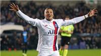 Club Brugge 0-5 PSG: Mbappe lập hat-trick nhanh nhất lịch sử Champions League từ ghế dự bị