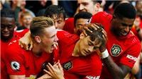BÓNG ĐÁ HÔM NAY 28/10: MU làm điều chưa từng có ở Premier League. Liverpool hạ Tottenham