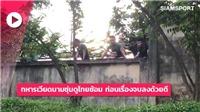 Truyền thông Thái Lan đưa tin bộ đội Việt Nam xem đội nhà tập kín