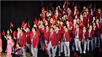 TOÀN CẢNH lễ khai mạc SEA Games 2019: Bữa tiệc âm thanh và ánh sáng, hotboy cầm cờ đoàn Việt Nam gây sốt