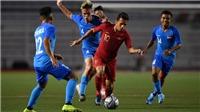 Bóng đá hôm nay 3/12: Trực tiếp U22 Việt Nam vs U22 Singapore. Thực hư vụ wushu Việt Nam hụt huy chương vàng