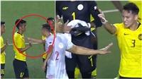 Cầu thủ Philippines gây phẫn nộ khi 'bắt tay như đánh nhau' với U22 Malaysia