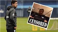 Đăng ảnh tự sướng với của quý khi mặc áo câu lạc bộ, HLV Tây Ban Nha bị đình chỉ