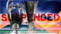 BÓNG ĐÁ HÔM NAY 13/3: Chính thức hoãn C1, C2. Ronaldo âm tính với Covid-19