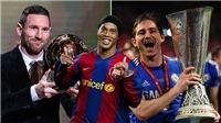 Ronaldinho gạt hoàn toàn cầu thủ MU ra khỏi đội hình hay nhất lịch sử Champions League