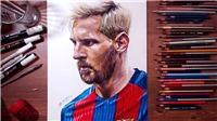 Họa sĩ lừng danh hướng dẫn 5 bước đơn giản để vẽ Messi sống động như thật
