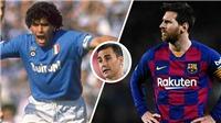 Fabio Cannavaro: 'Messi là số một thế giới, nhưng Maradona đến từ... hành tinh khác'