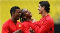 Ronaldo đã nói gì với đồng đội trước khi rời MU đến Real Madrid?