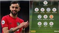 Mới đá 5 trận, sao MU đã lọt Đội hình tiêu biểu Ngoại hạng Anh 2019-20