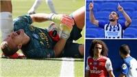 Thủ môn Arsenal chấn thương kinh hoàng, đồng đội lao vào bóp cổ đối phương