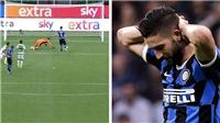 Cầu thủ Inter Milan bỏ lỡ không tưởng, Lukaku chết lặng