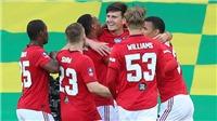 Norwich 1-2 MU: Maguire hóa người hùng, MU nghẹt thở vào bán kết FA Cup