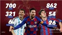 Bóng đá hôm nay 1/7: Messi gia nhập 'CLB 700' cùng Ronaldo. MU ra quyết định cuối cùng vụ Sancho