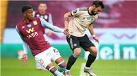 Aston Villa 0-3 MU: Bruno Fernandes bị tố ăn vạ, MU cân bằng kỷ lục… penalty