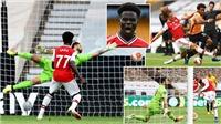 Wolves 0-2 Arsenal: Wolves hụt hơi, Pháo thủ nuôi hy vọng trời Âu