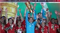 Leverkusen 2-4 Bayern: Lewandowski lập cú đúp, Bayern giành Cúp Quốc gia Đức
